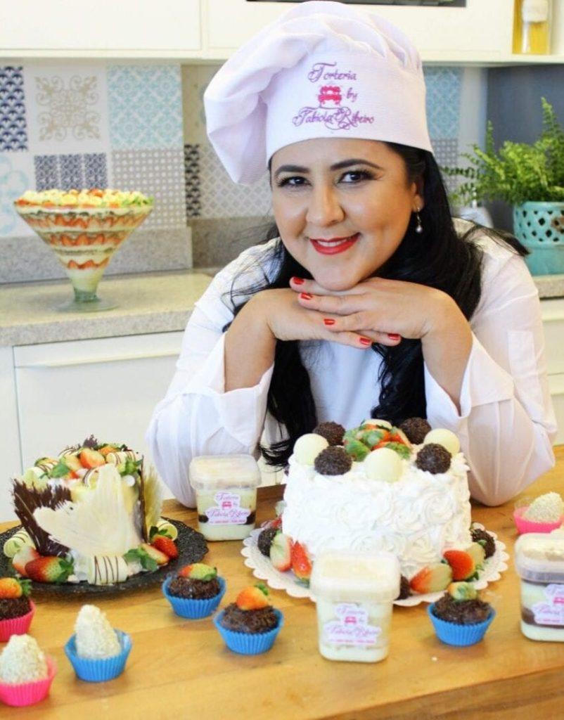 Além do Instagram: tortas deliciosas e anos de trabalho fazem o sucesso de Fabíola Ribeiro