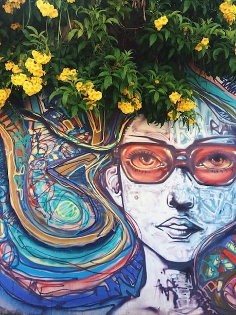 Praça Cívica é um dos lugares com grafites em Goiânia