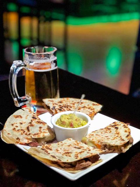 Quesadillas do Hurricane Sports Pub