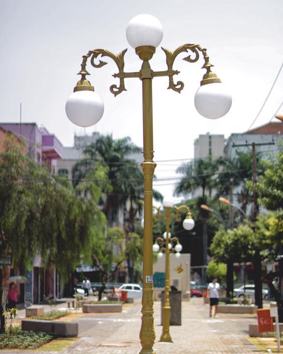 Rua do Lazer foi revitalizada e a inauguração ocorreu no dia 19 de outubro de 2019