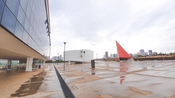 Museu de Arte Contemporânea de Goiás no CCON