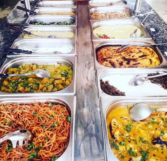 Restaurante Cabaça de Mel se localiza no Centro de Convenções de Goiânia