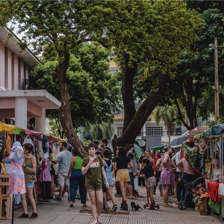 Mercado das Coisas no Lyceu de Goiânia