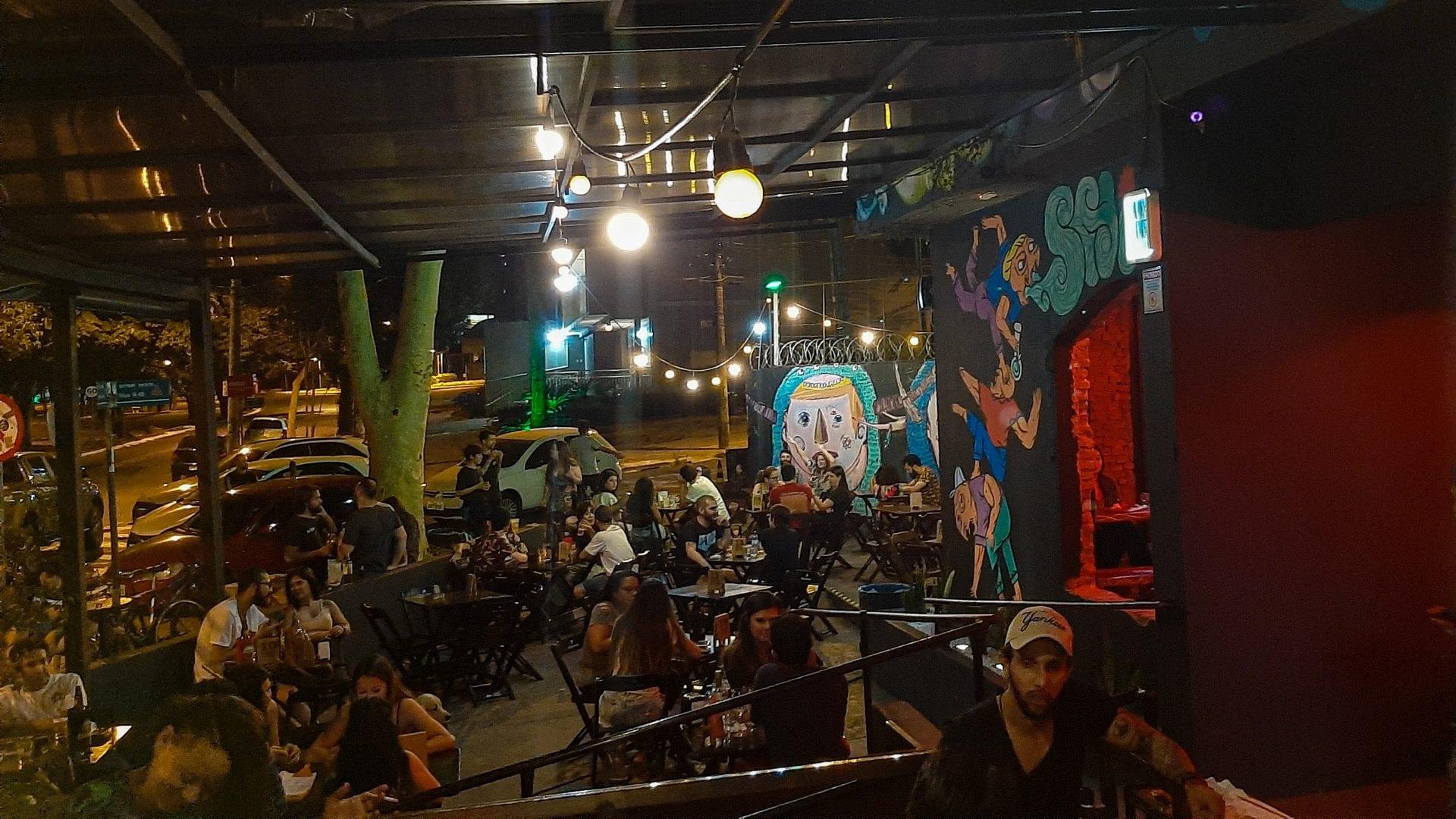 Shiva é um bar alternativo de Goiânia que possui happy hour