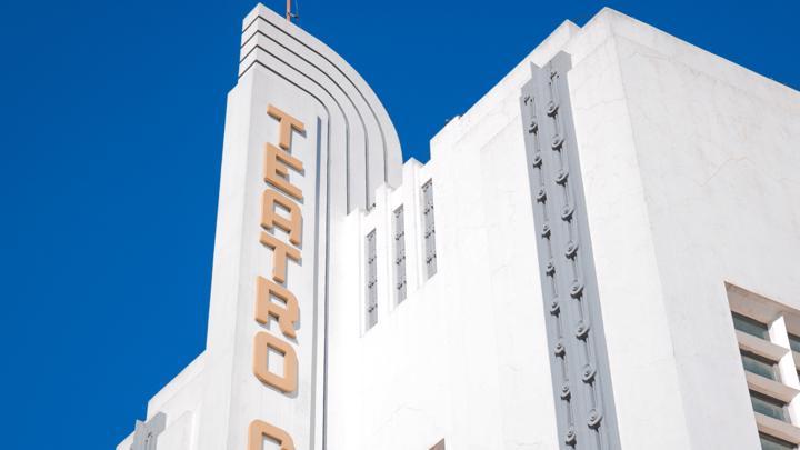 Teatro Goiânia, no Centro, é obra em Art Déco