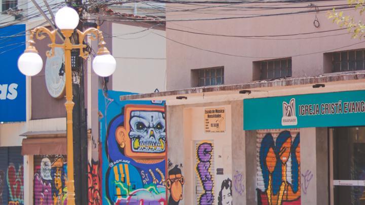 Rua do Lazer no Centro, em Goiânia