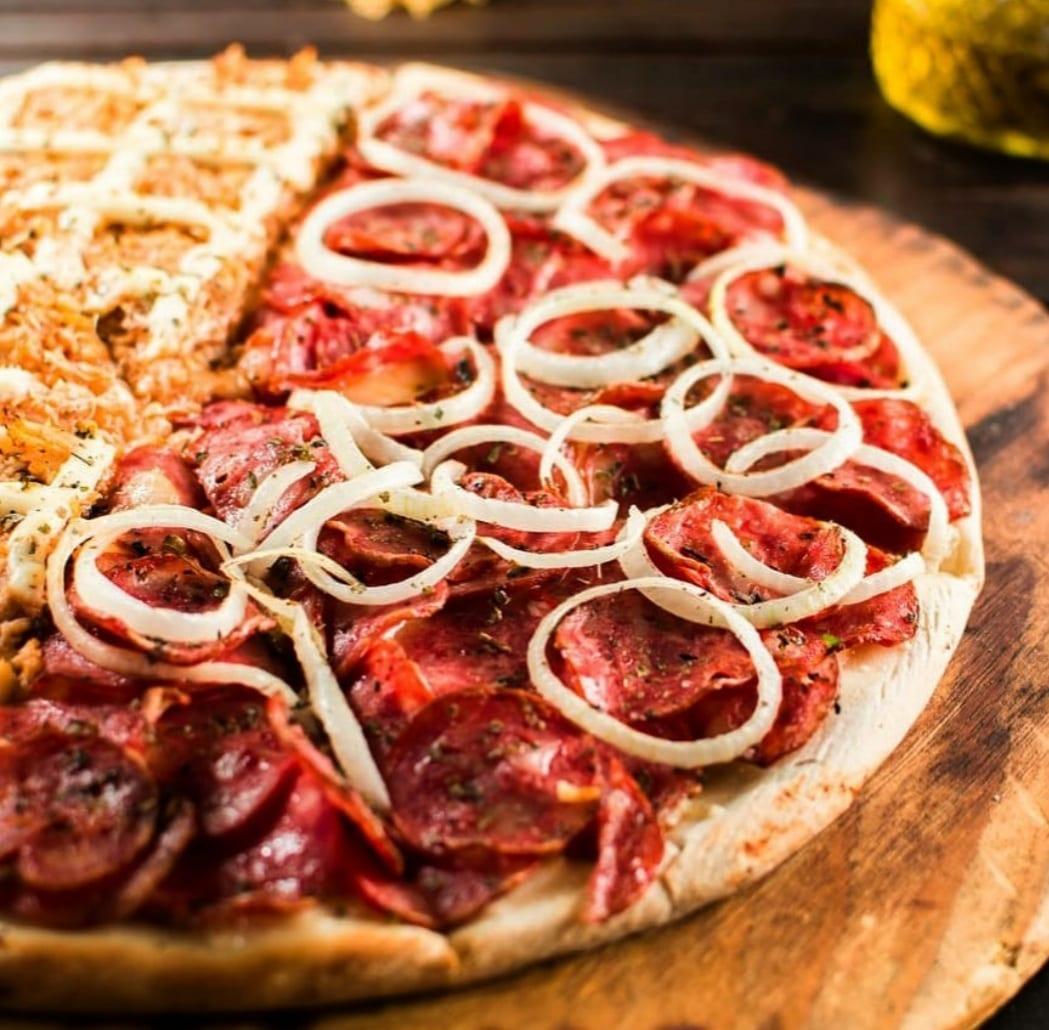 Basilli trabalha apenas com pizza por delivery