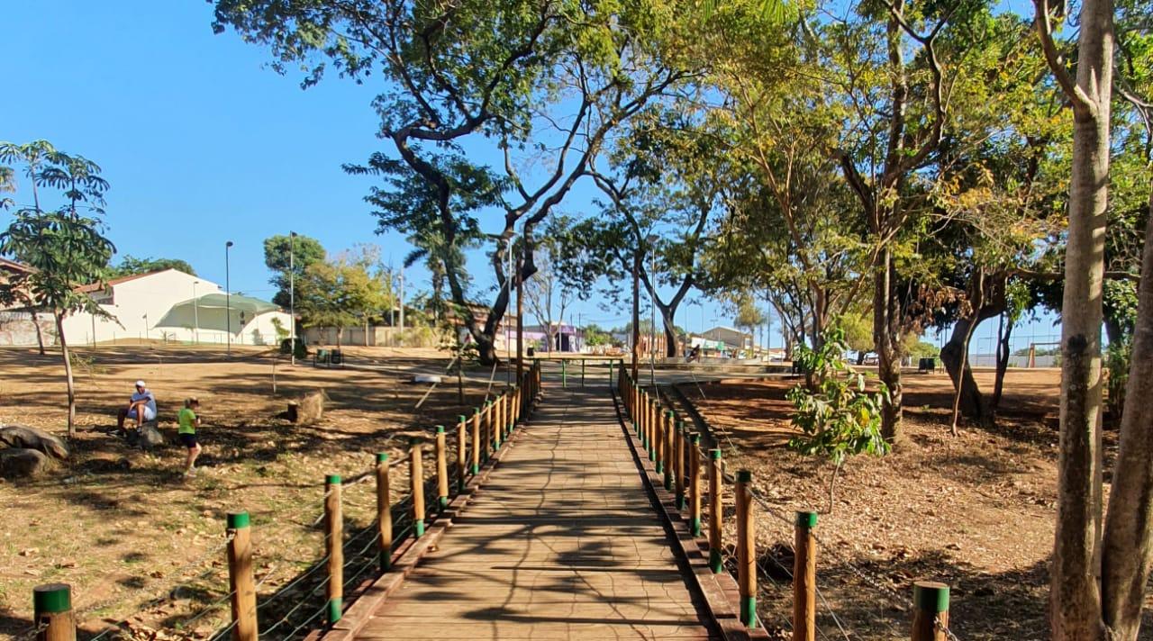 Ponte no Parque Bernardo Élis