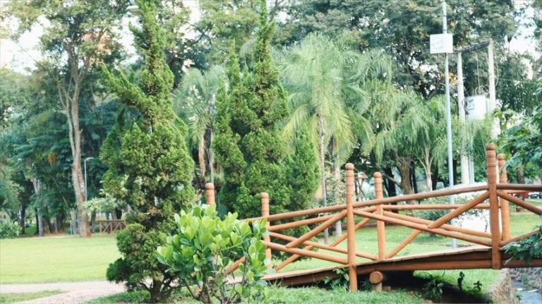 Parque Flamboyant, em Goiânia