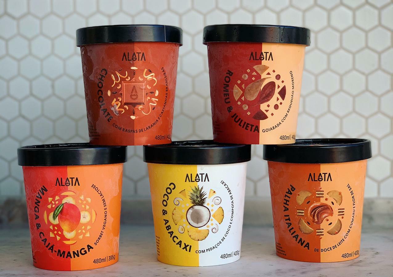 Alata Sorvetes, do renomado chef Ian Baiocchi, é inaugurada em Goiânia