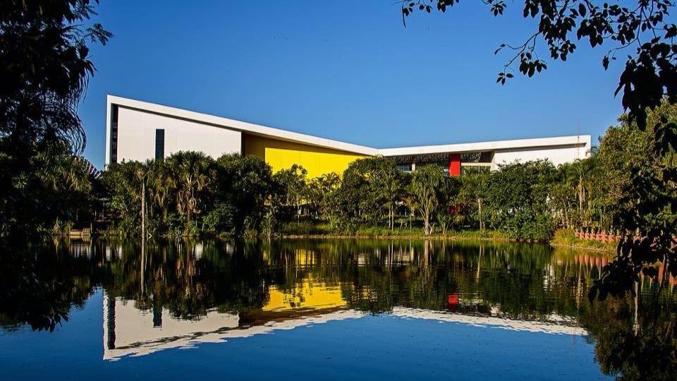 Centro de Convençoes da PUC-GO, no Jardim Mariliza