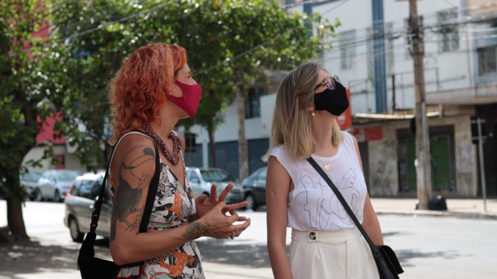 Larissa Pitman e Paula Falcão