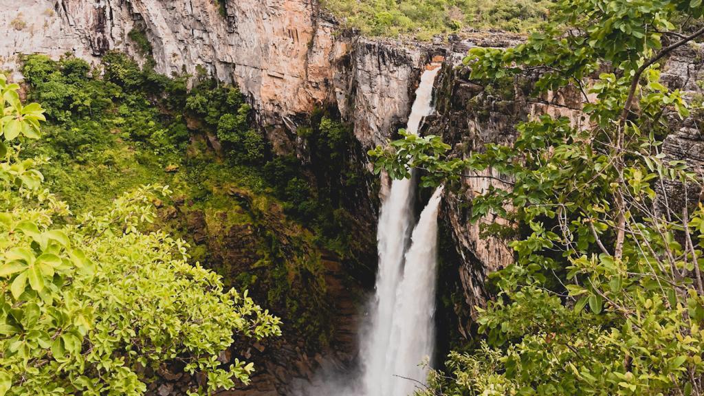 Salto 120, no Parque Nacional da Chapada dos Veadeiros