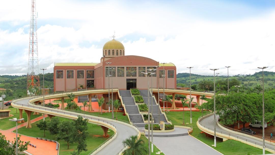 Basílica do Divino Pai Eterno, em Trindade.