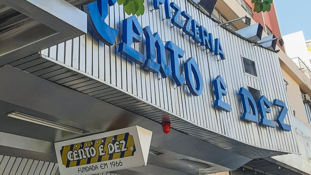 Pizzeria Cento e Dez, um dos lugares clássicos para ir comer em Goiânia