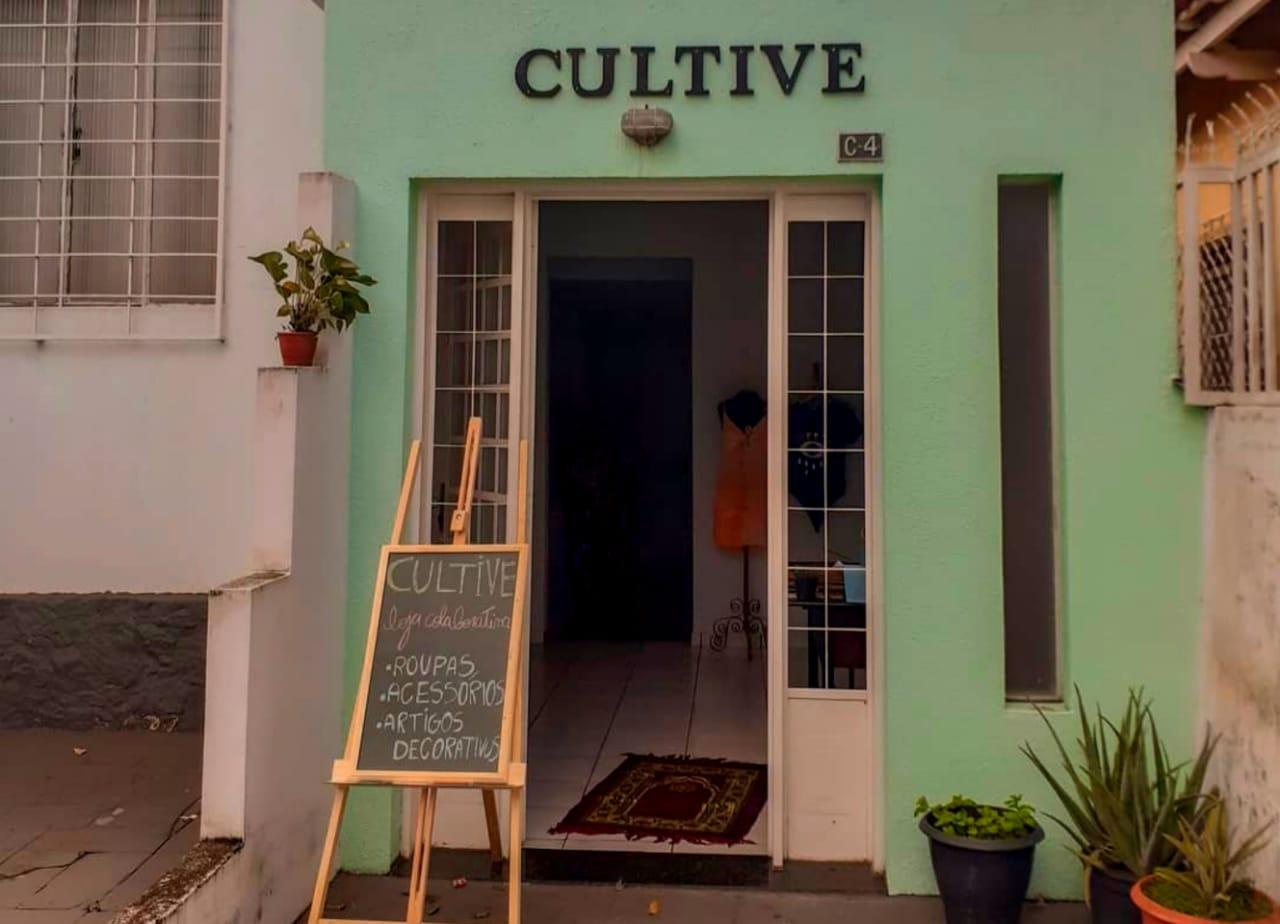 Fachada da Casa Cultive