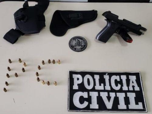 Falso policial: estudante de direito é preso em Jaraguá após tentar enganar autoridades