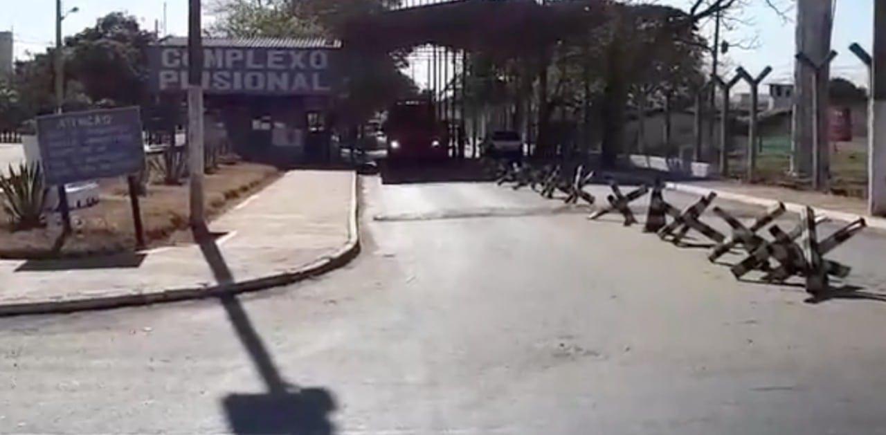 a7f618105f Penitenciária em Aparecida de Goiânia tem início de tumulto na manhã ...