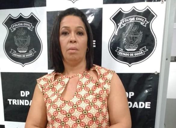 Mulher usou boa noite Cinderela para roubar idosos em Trindade é presa em Goiânia