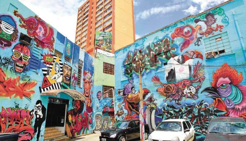 Beco da Codorna: museu de arte urbana bem no centro de Goiânia