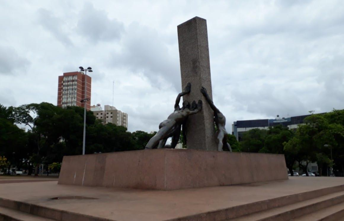 Monumento às Três Raças é símbolo da história goiana