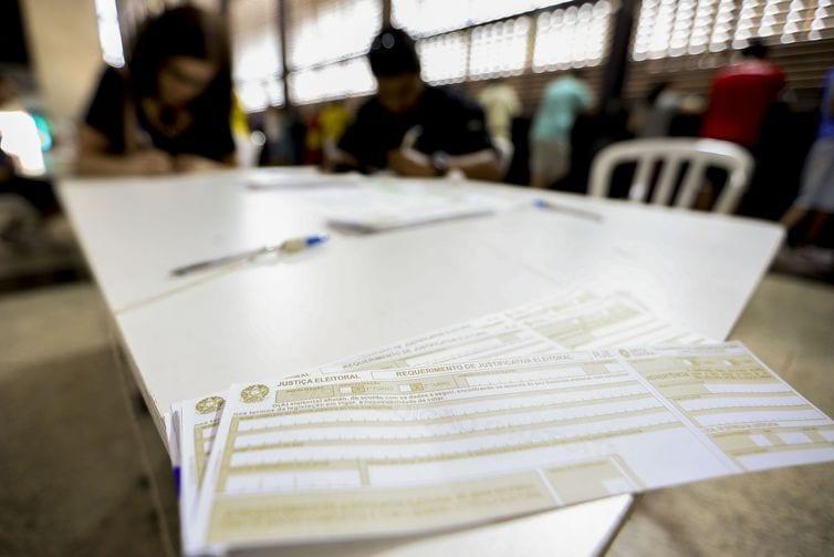 Justificativa pode ser feita nos cartórios eleitorais ou pela internet, no Sistema Justifica (Foto: Agência Brasil)