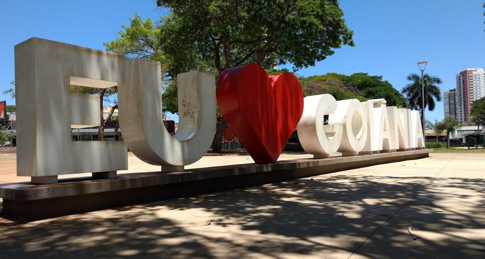 praças em Goiânia