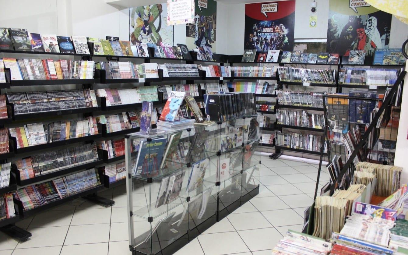 Sebo em Brasília / livros