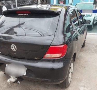 Jovem se arrepende de devolve carro roubado do motorista de aplicativo, em Trindade