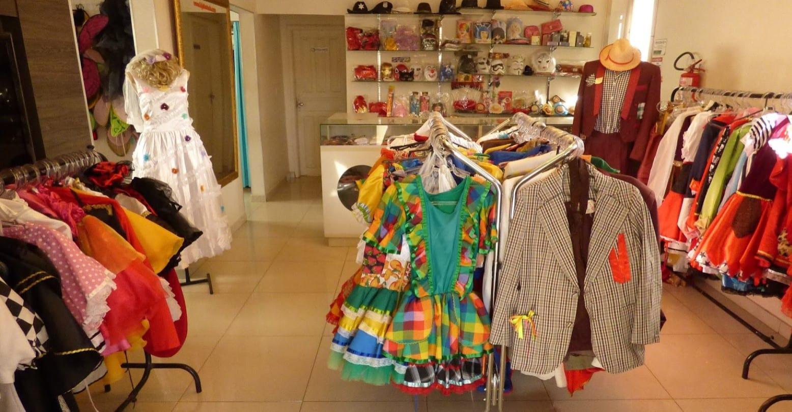 lojas de fantasia em Goiânia