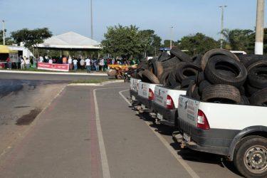 Iniciados serviços do Prefeitura em Ação que beneficiarão os bairros da região do Parque das Nações, em Aparecida de Goiânia