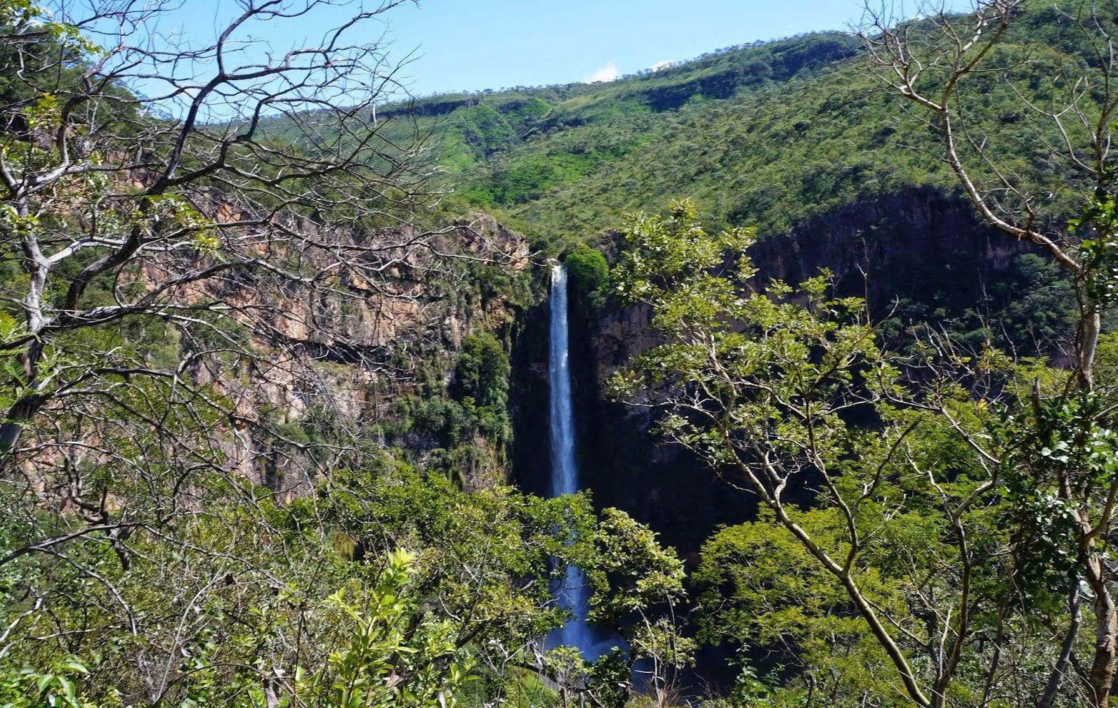 Salto do Itiquira: um verdadeiro paraíso natural em Goiás