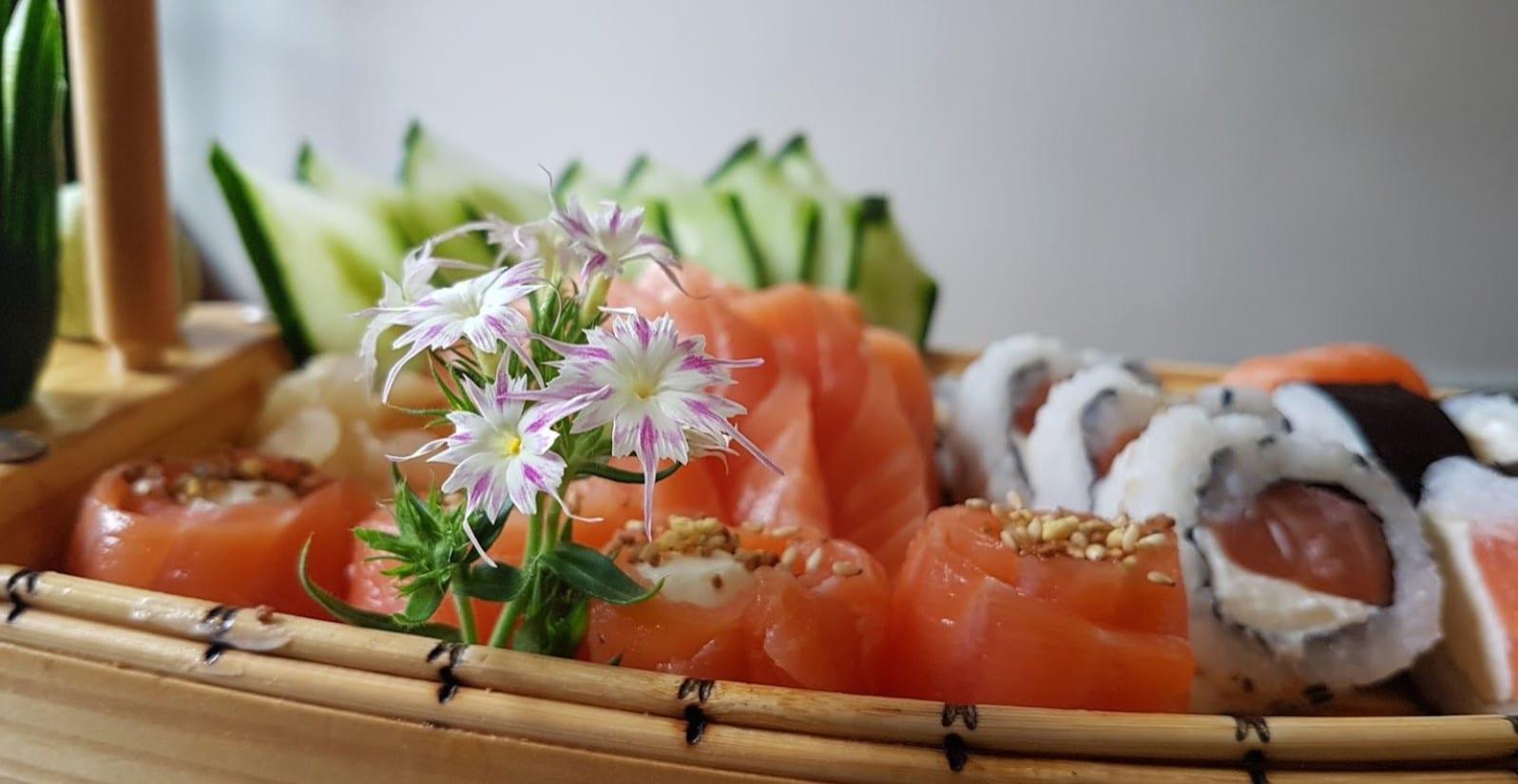 Sushi em Brasília / comida japonesa