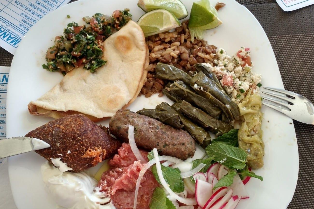 comida árabe / Brasília / restaurante árabe