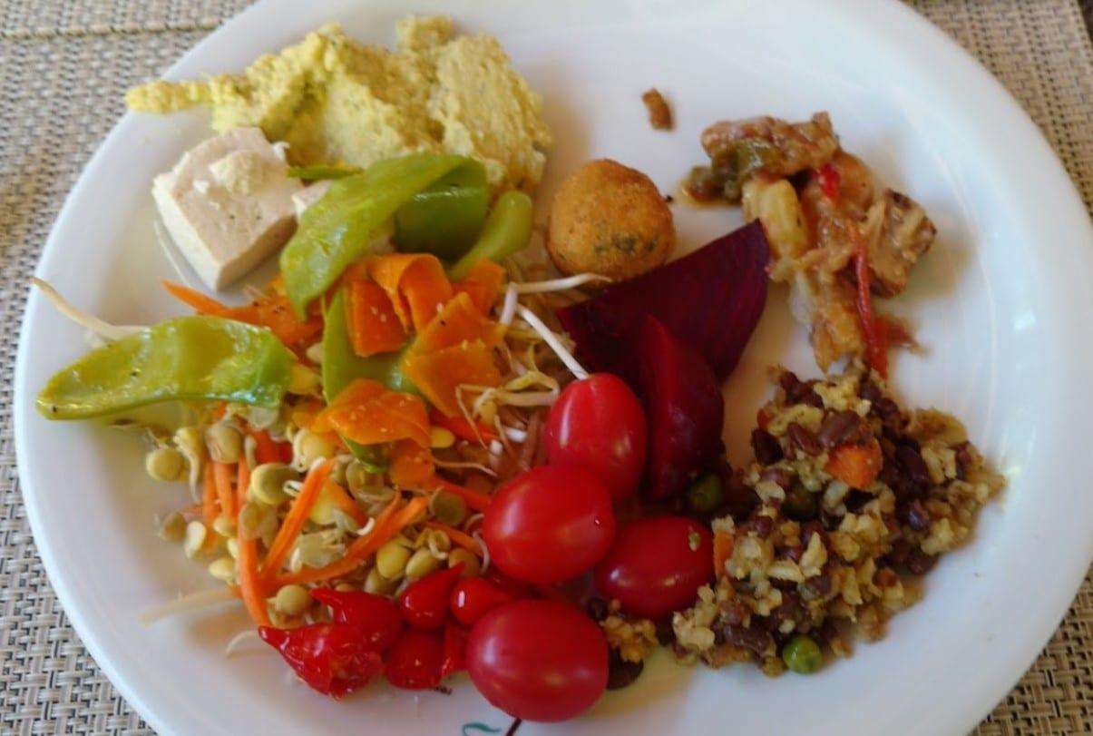 comida saudável em Brasília