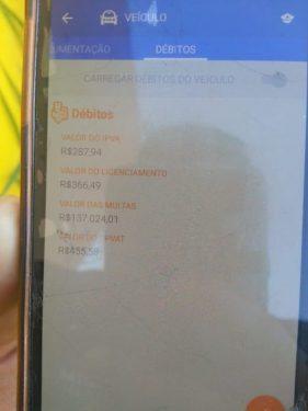 Homem com quase 2000 pontos na carteira e 140 mil em multas é pego, em Brasília