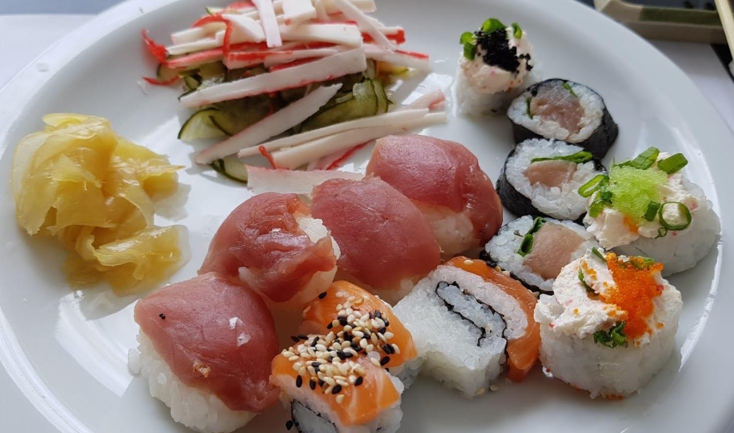 comida japonesa Brasília