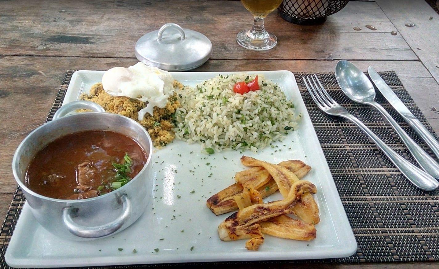almoçar em Brasília_ almoço
