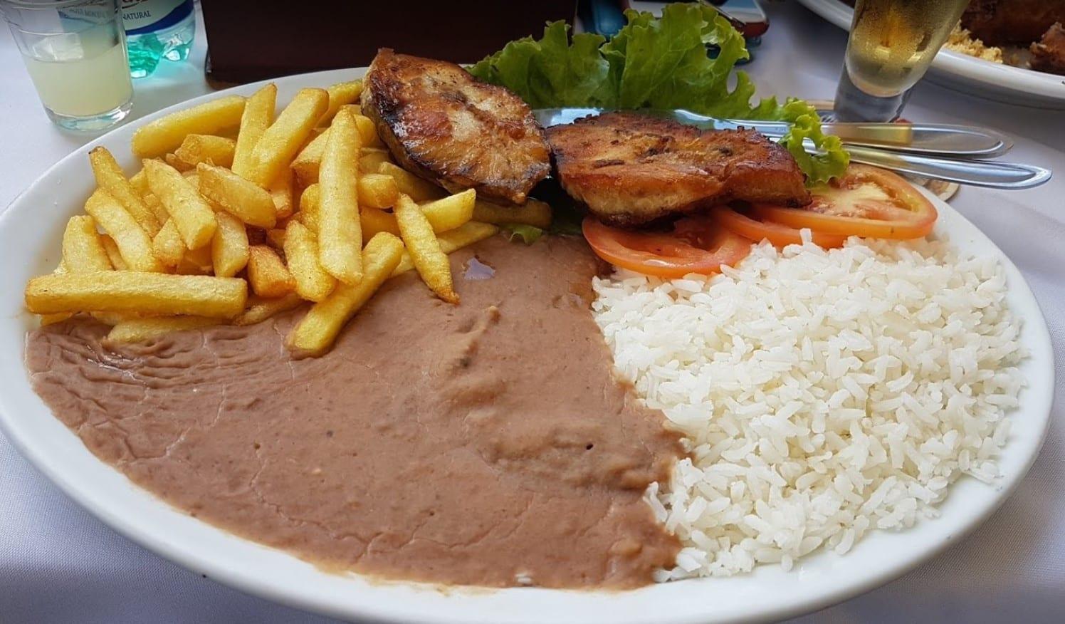 almoçar em Brasília_almoço