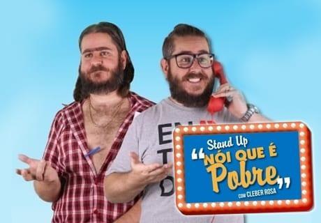 Cleber Rosa apresenta stand up 'Nói que é Pobre', em Goiânia