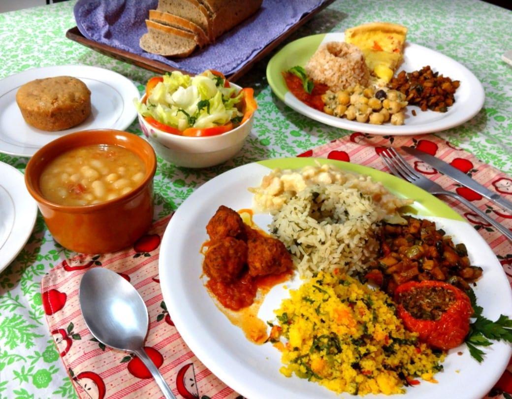 comida vegana vegetariana em Goiânia