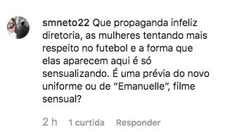 Prévia de novo uniforme do Goiás com conotação sensual gera polêmica