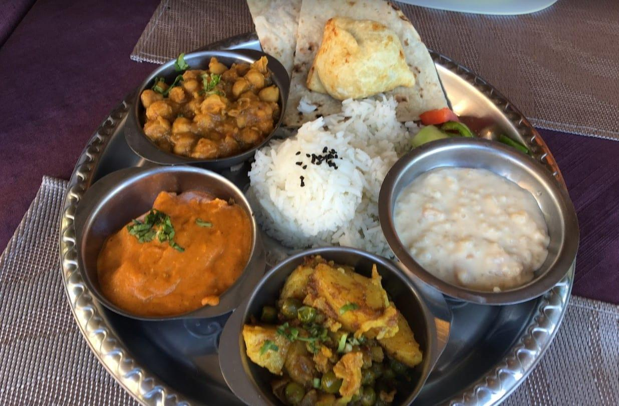 restaurante indiano em Brasília