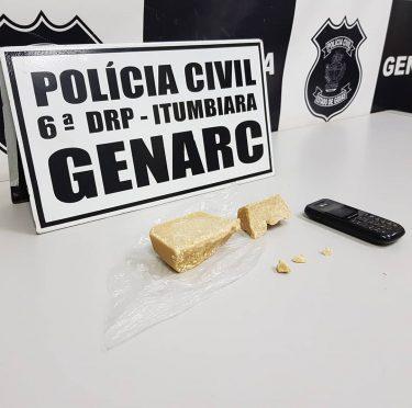 Ex-vereador de Aloândia é preso por tráfico de drogas, em Itumbiara