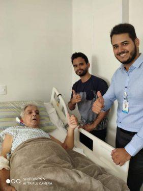 Pacientes querem morar em hospital