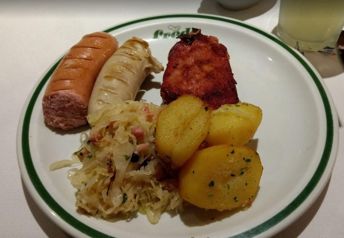 comida alemã Brasília