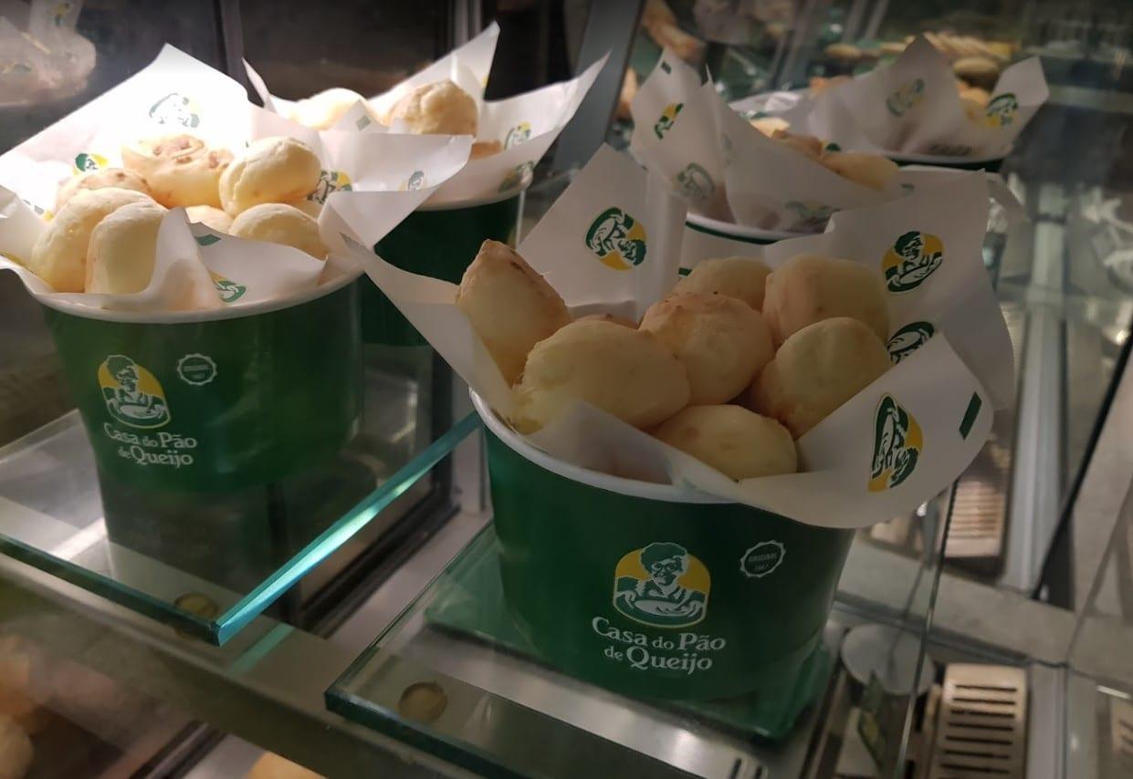 pão de queijo Brasília