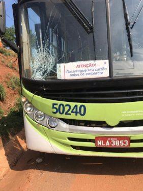 Pedestre morre após ser atropelado transporte coletivo na GO-070, em Goiânia
