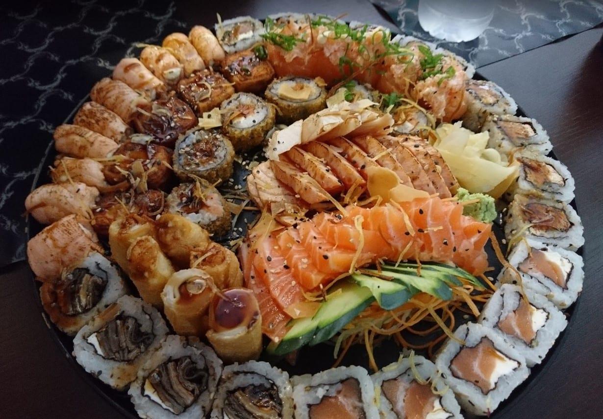 restaurante japonês Águas Claras Brasília