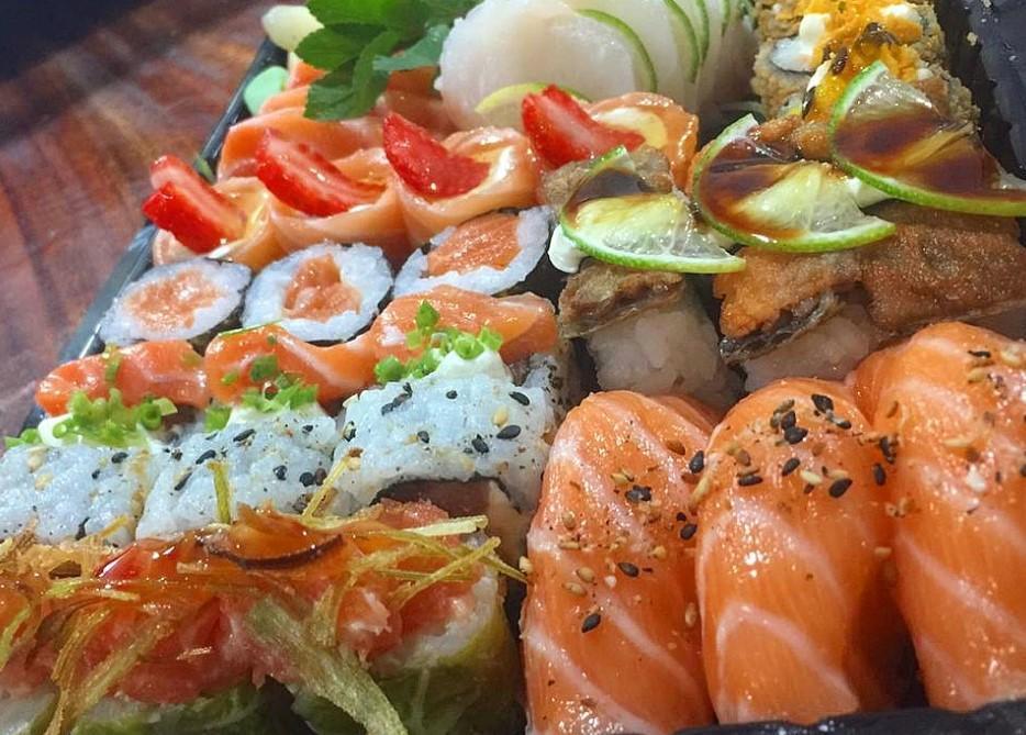 comida japonesa Anápolis
